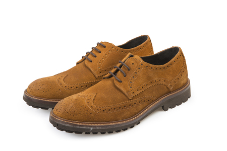 Retro Mens Shoes - Clipping Path