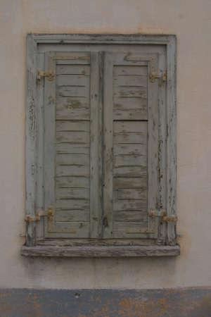 shutters: closed shutters
