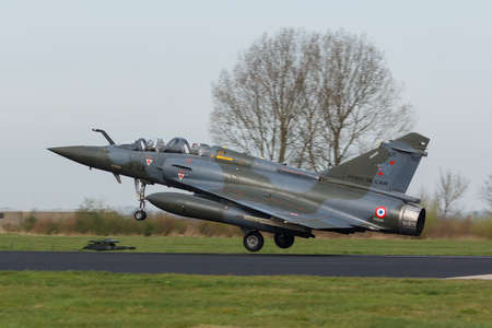 Dassault Mirage 2000 landing at Frisian Flag exercise