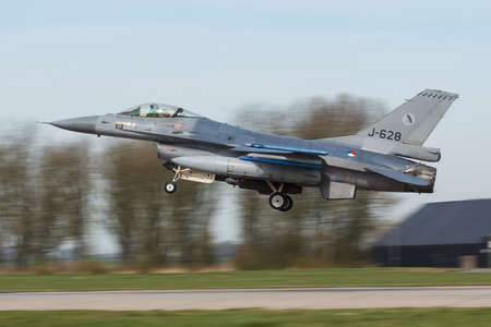 An F-16 Fighting Falcon of 322 sqn RNLAF at the Frisian Flag