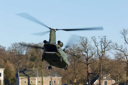 Olst Feb 7 2018: Army and Air Force helicopter exercise