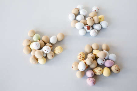 Colored easter egg sweets Stock Photo