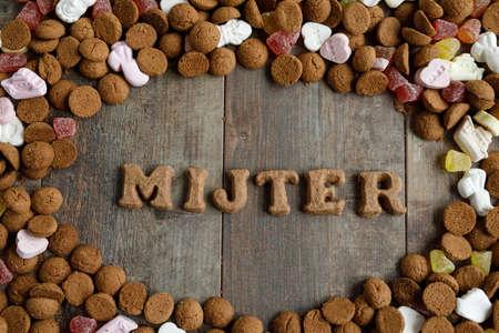 Dutch candy called Pepernoten eaten during Sinterklaas feast