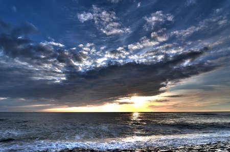 godlike: Summerstorm sunset in Petten HDR
