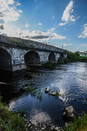 county meath: Old bridge in Ireland