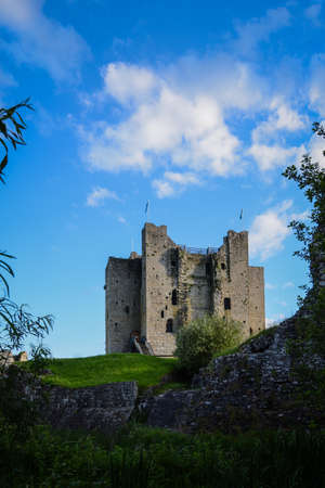 county meath: Trim castle in Ireland