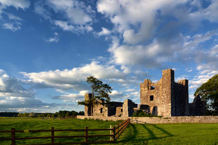 county meath: Bective Abbey in Ireland