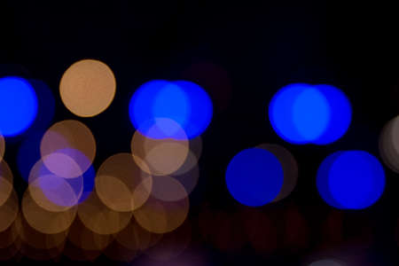 blurred lights as abstract background photo
