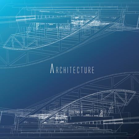 architecture de fond