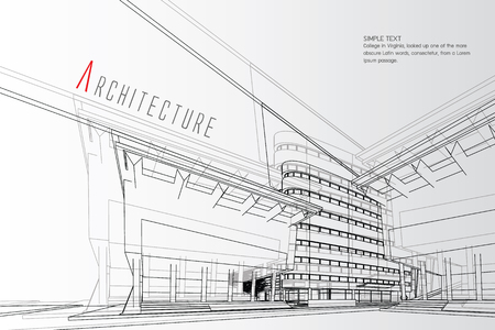 Architecture Background Vector illustration. Illustration