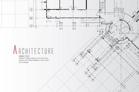 アーキテクチャの背景。  イラスト・ベクター素材