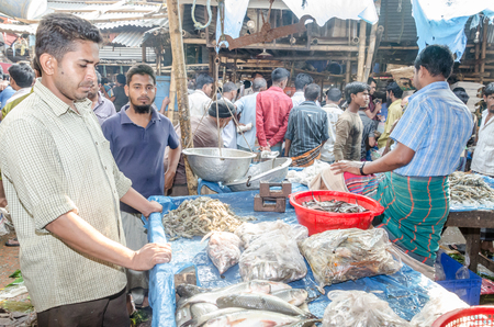 kilograms: The Fish sellers in karwan bazar wholesale fish market have a restriction. That is the minimum order is 5 kilograms. most of the other seller from different smaller markets are the main buyer. Editorial