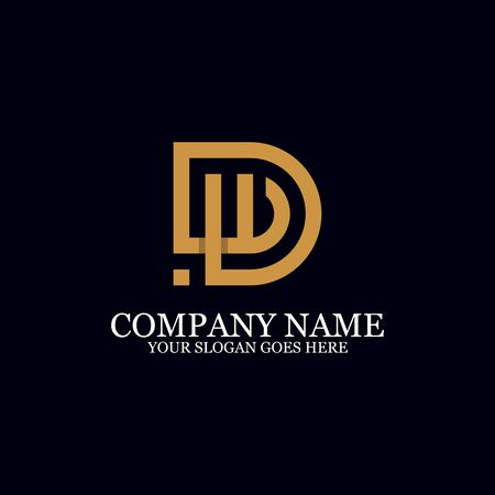 Letter DW Monogram Logo Inspiration, great for logo Marks, Clean and clever logo templates, initial logo designs