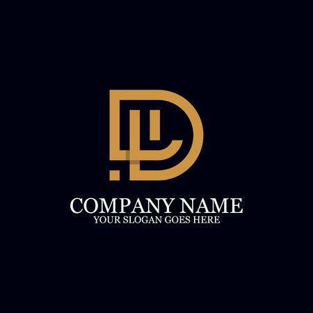 Letter DL Monogram Logo Inspiration, great for logo Marks, Clean and clever logo templates, initial logo designs