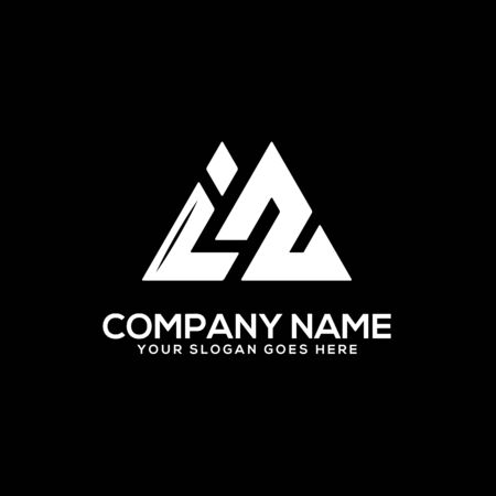 I Z initial logo inspiration, I and Z logo vector, can used sport, finance, firm logo template