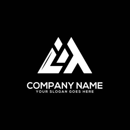 IT initial logo inspiration, I and T logo vector, can used sport, finance, firm logo template