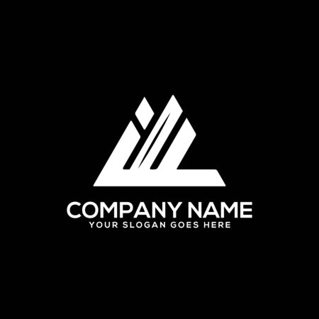 IF initial logo inspiration, I and F logo vector, can used sport, finance, firm logo template