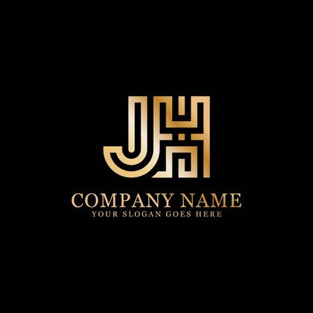 J AND X monogram logo inspirations, letters logo template,clean and creative designs Stock Vector - 130156453
