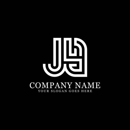 J AND Y monogram logo inspirations, letters logo template,clean and creative designs Stock Vector - 130156454