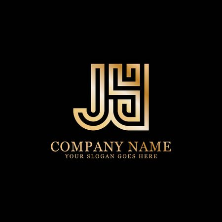 J AND Y monogram logo inspirations, letters logo template,clean and creative designs