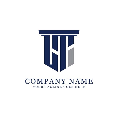 LT initial logo designs inspiration, L logo vector, can used firm, finance, sport logo template