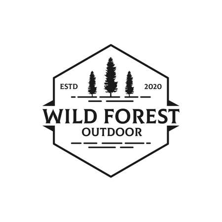 Simple Nature Wild Forest Outdoor  design, best for sport or recreation  etc