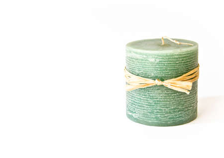 Green candle Imagens