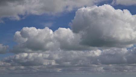 cloudy sky in fall