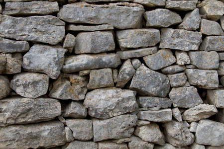 rural stone wall Imagens