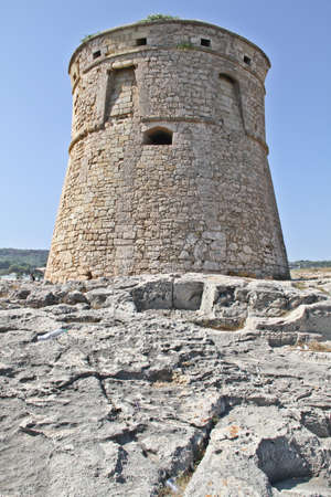 Ancient stone watch tower