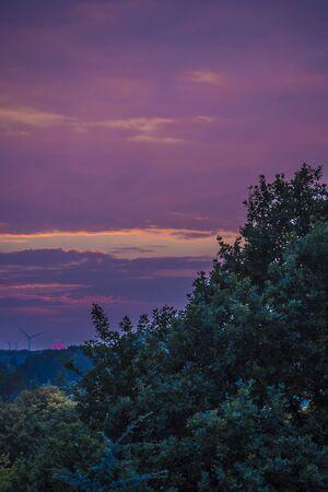 Violet, Purple, Pink, Pink Sunset. Rare and amazing. Banco de Imagens