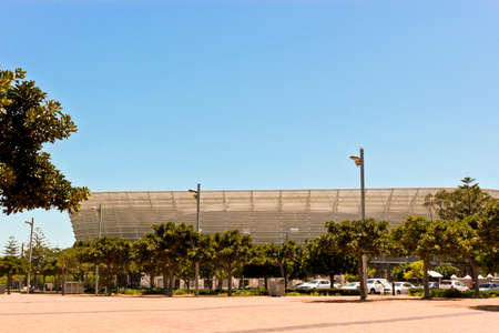 Famous Cape Town Stadium in Cape Town, South Africa. Редакционное
