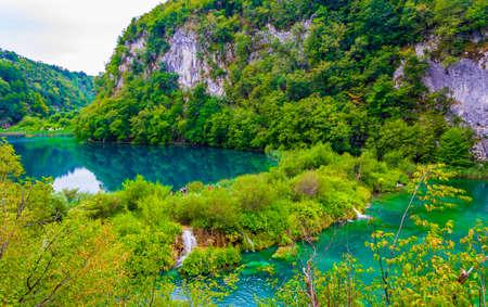 Plitvice Lakes National Park Croatia turquoise water landscape Europe's Best Destinations.