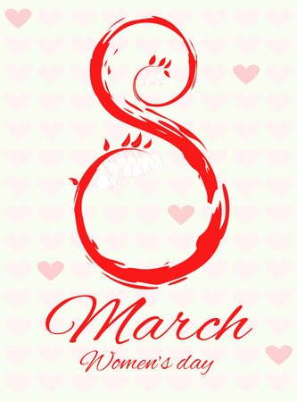 8 march. Womens day.