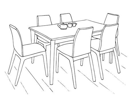 Cuarto De Los Niños. Muebles Para Niños. Cama, Mesa Y Silla ...