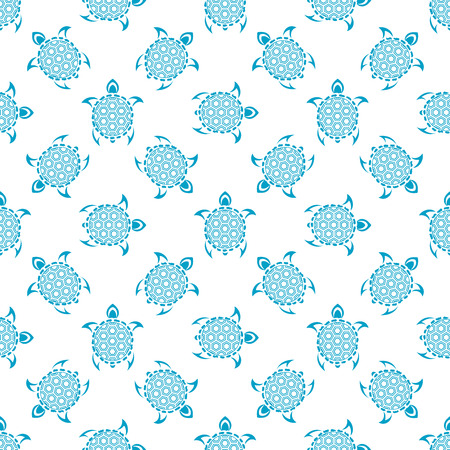 Pattern with turtles. Seamless pattern can be used for wallpaper, pattern fills, web page background,surface textures.