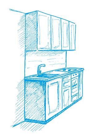 Disegnare Mobili Stunning Disegnare Una Cucina