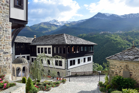 Saint Jovan Bigorski Monastery. Macedonian Orthodox monastery, Macedonia. Stockfoto
