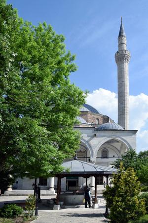 Mustafa Pasha's Mosque. Skopje, Macedonia.