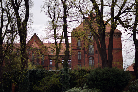 Theological seminary in Wroclaw city. Ostrow Tumski, Wroclaw, Poland. Editoriali