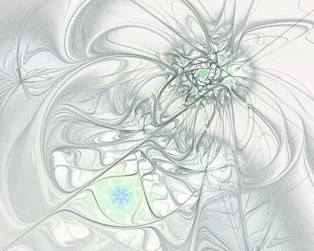 whote: Digitally generated image made of colorful fractal to serve as backdrop for projects related to fantasy, creativity, imagination, art and web design.