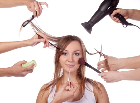 nail scissors: Make-up, cut, many hands