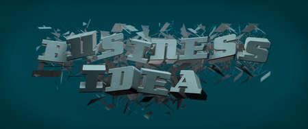 slogan: Slogan idea de negocio