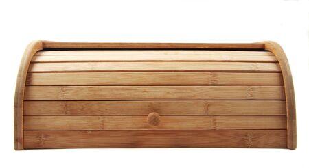 breadbasket: wooden breadbasket isolated closeup