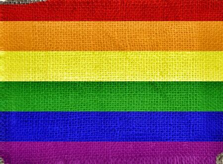 bandera gay: bandera Gay impreso en tela