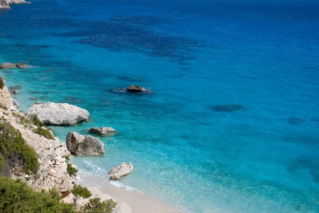 Goloritz cove in Sardinia, Italy photo