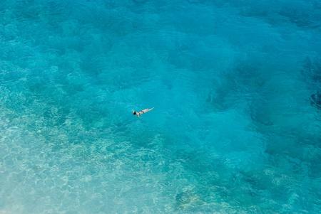 Sea in Goloritzè cove in Sardinia, Italy photo