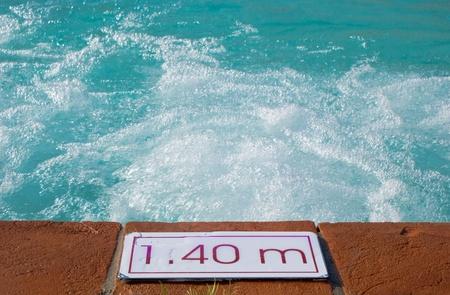 limpid: Detail of swimming pool