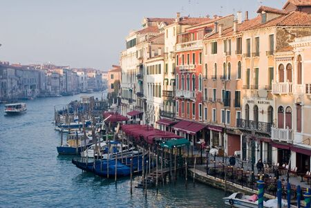 View of Canal Grande in Venice, Italy