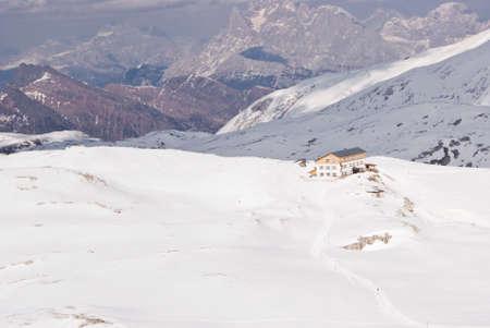 martino: Plateau of the Pale di San Martino in Dolomite Alps, Italy Stock Photo